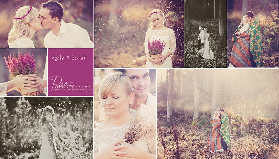 jesienny plener ślubny