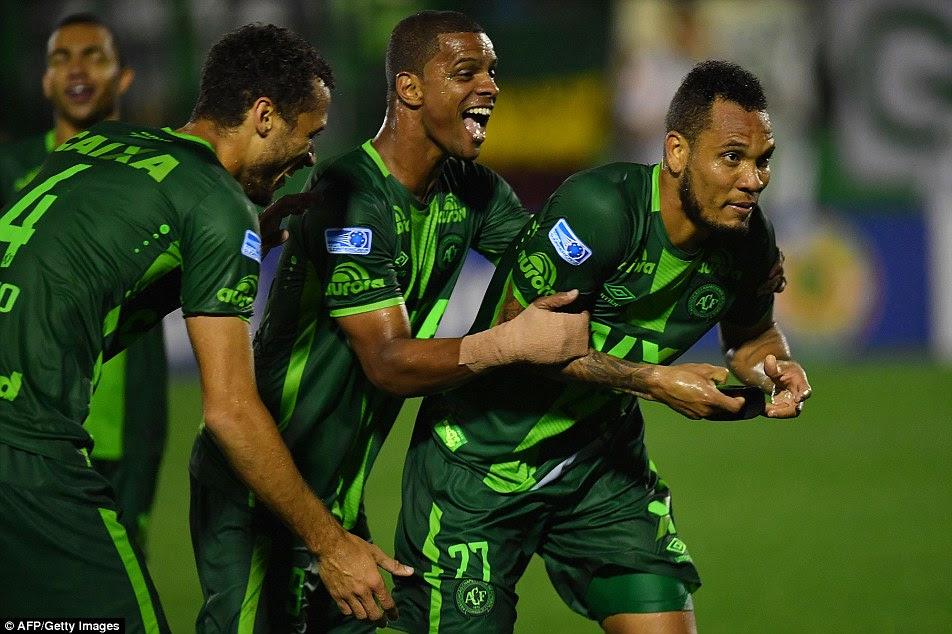 A equipe se juntou a primeira divisão do Brasil em 2014 pela primeira vez desde a década de 1970 e tornou na semana passada para a final Copa Sul-Americana - o equivalente do torneio UEFA Europa League - após derrotar o argentino San Lorenzo