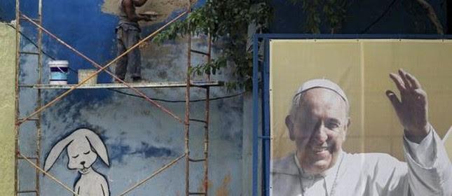 Papa Francisco desembarca amanhã em Havana para sua primeira visita a Cuba (Foto: Reuters)
