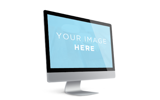 Showcase Mac Screen Template - 365psd