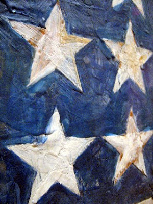 Jasper Johns Flag in MOMA