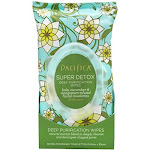 Pacifica Super Detox Deep Purification Wipes 30 Towelettes