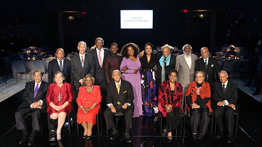 Oprah honors Myrlie Evers, other civil rights legends