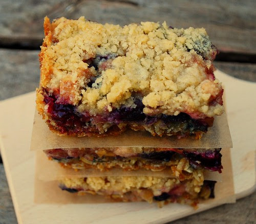 Apple Blueberry Crumb Bars CU