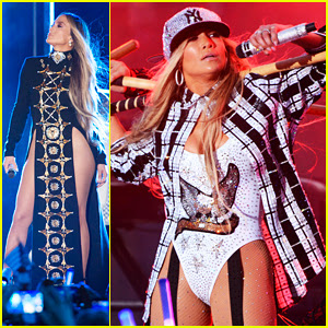Jennifer Lopez Performs 'Ni Tu Ni Yo' for First Time at 4th of July Fireworks Spectacular!