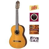 Yamaha CG182C Solid Cedar Top Classical Guitar Bundle with Instructional DVD, Strings, Pick Card, and Polishing...