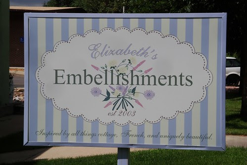 Embellishments sign