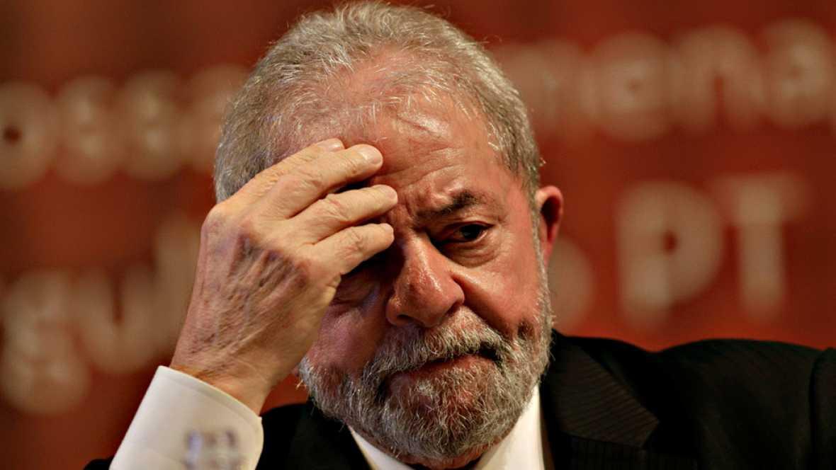 Lula, condenado a nueve años y medio de prisión por corrupción