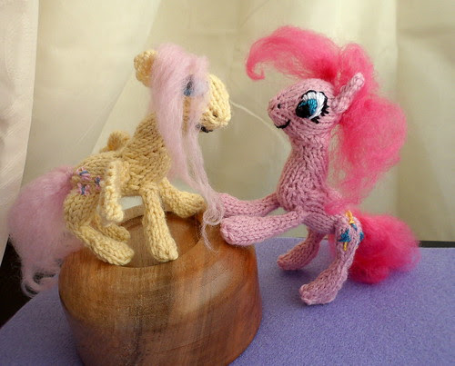 Brushed yarn toy hair fuzzy doll hair for knitted plushies Fluttershy Pinkie Pie