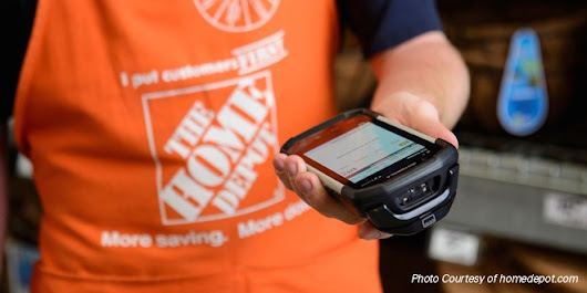 Home Depot Improving Customer Service With Technology