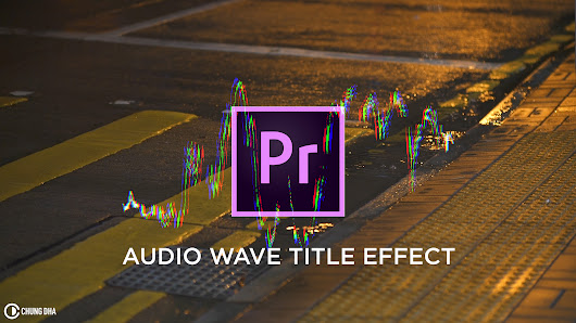Audio Wave Title Effect Premiere Pro 4 minute Tutorial