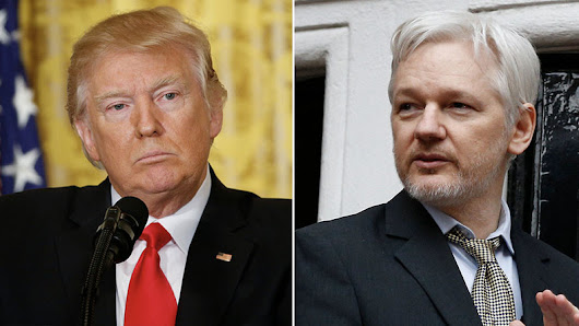 'Never apologize for publishing truth': Assange chides Trump's anti-leak & fake news stance