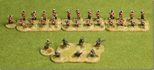 French-Indian War for Sharp Practice 2 – Derek's Wee Toys
