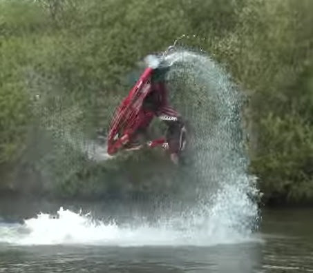 Amazing Flips and Tricks from Jet Skier Ant Burgess