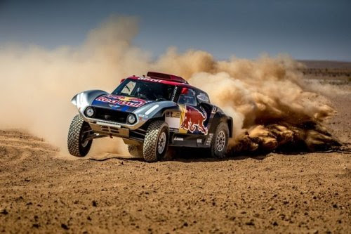 Red Bull Baja with Absolut Vodka • American off-road racer Bryce Menzies, WRC regular...