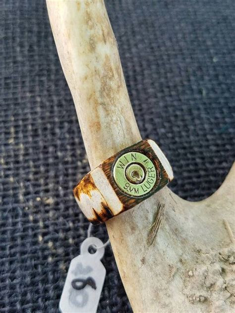 deer antler ring ideas  pinterest antler ring