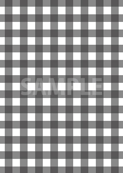 黒色のギンガムチェック柄a4サイズ背景素材 無料 商用可能 サイズ 背景テンプレートダウンロードサイト