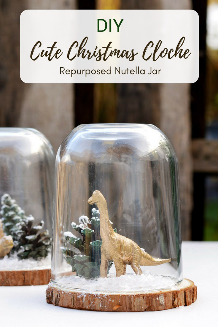 Make A Dinosaur Terrarium out of a Nutella Jar | Pillar Box Blue