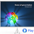 Colorful Teamwork Animated PowerPoint Template