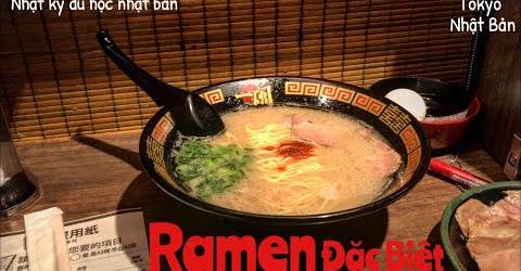 Ăn Ramen đặc biệt tại tokyo