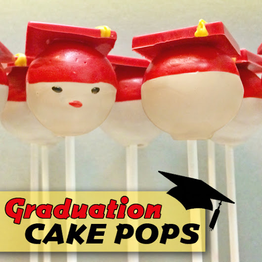 Graduation Hat Cake Pops