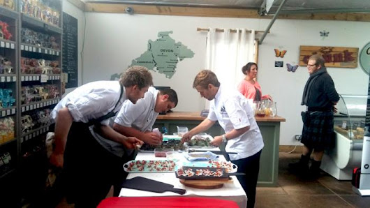 Top Chefs Take a Shot at Game with Devon Fungi | HIT Training Ltd
