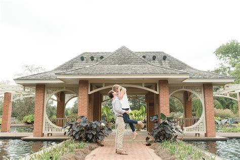 Huntsville Botanical Gardens Engagement Session   Eric