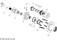 Ford F 250 Front Axle Parts Diagram