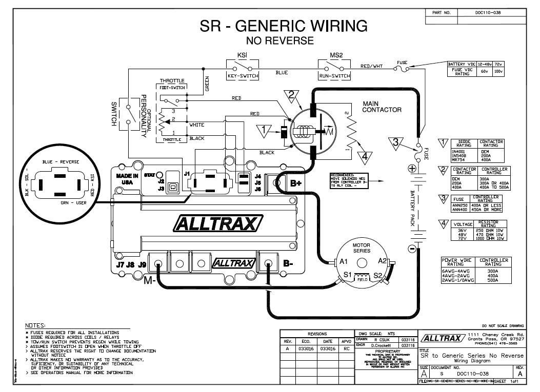 Alltrax Controller Wiring Diagram