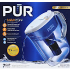 Pur Dual Action 7-Cup Ultimate Water Filtration System, Clear