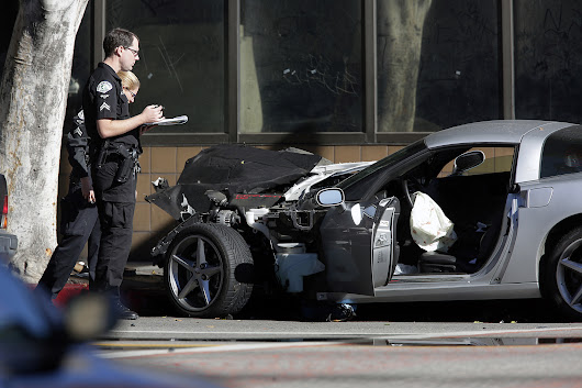 Family of Corvette driver killed on live TV gets $5 million from L.A.