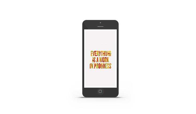 IPhone wallpaper di Abduzeedo della settimana per Brand Nu