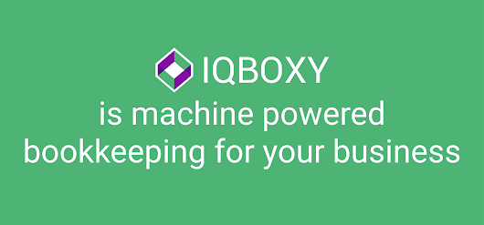 IQBOXY is machine powered bookkeeping for your business - The Road to Silicon Valley