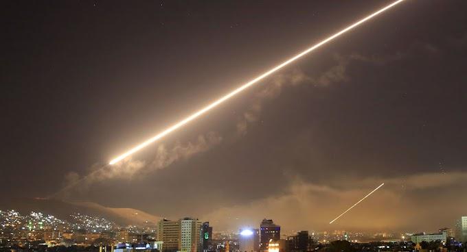 Síria derruba série de mísseis lançados por Israel sobre Damasco (VÍDEOS)