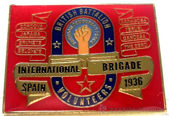 Resultado de imagen de batallon britanico brigadas internacionales