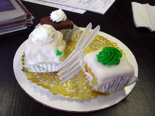 Cake Tasting Samples