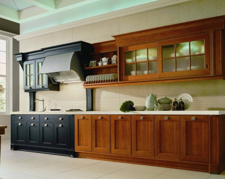 Kitchen cabinets solid wood kitchen cabinet factory, Buy ...