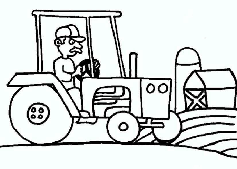 traktor malvorlagen zum ausdrucken