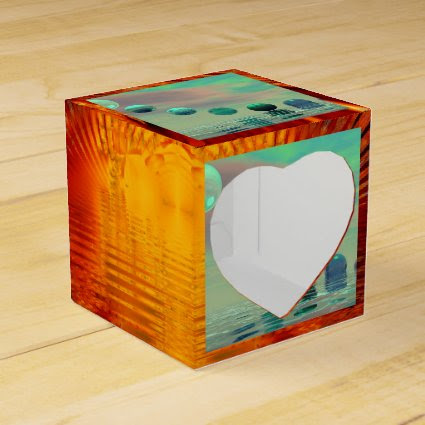 Light Rises, Abstract Evolution, Transformation Party Favor Boxes