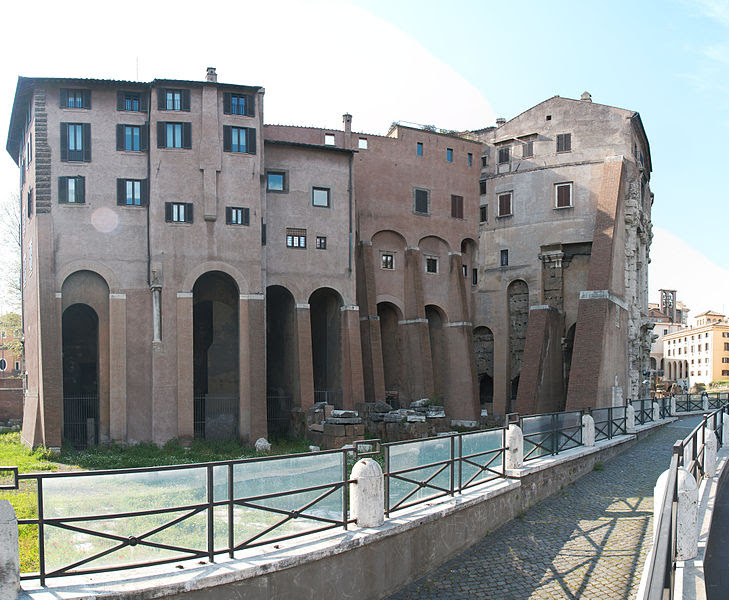 File:Theatre of Marcellus Rome backside.jpg