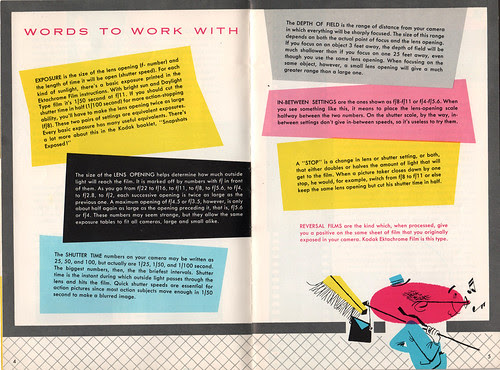 Kodak Ektachrome booklet 3