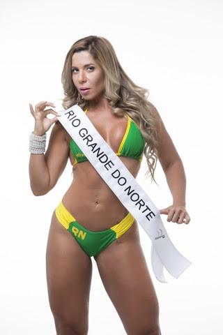 Cris Moreno, Miss Bumbum Rio Grande do Norte (Foto: MBB/Divulgação)