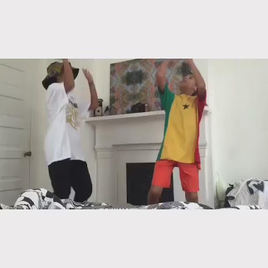 "Beyoncé Reactions on Twitter: ""Solange and her son dancing to White Iverson """