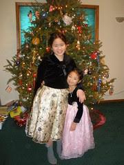 Sophia and Olivia on December 23rd