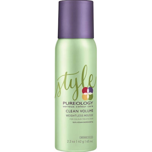 Pureology Clean Volume Weightless Mousse - 2.2 oz bottle