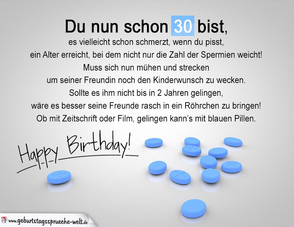 Gluckwunsch Zum 30 Geburtstag Freundin