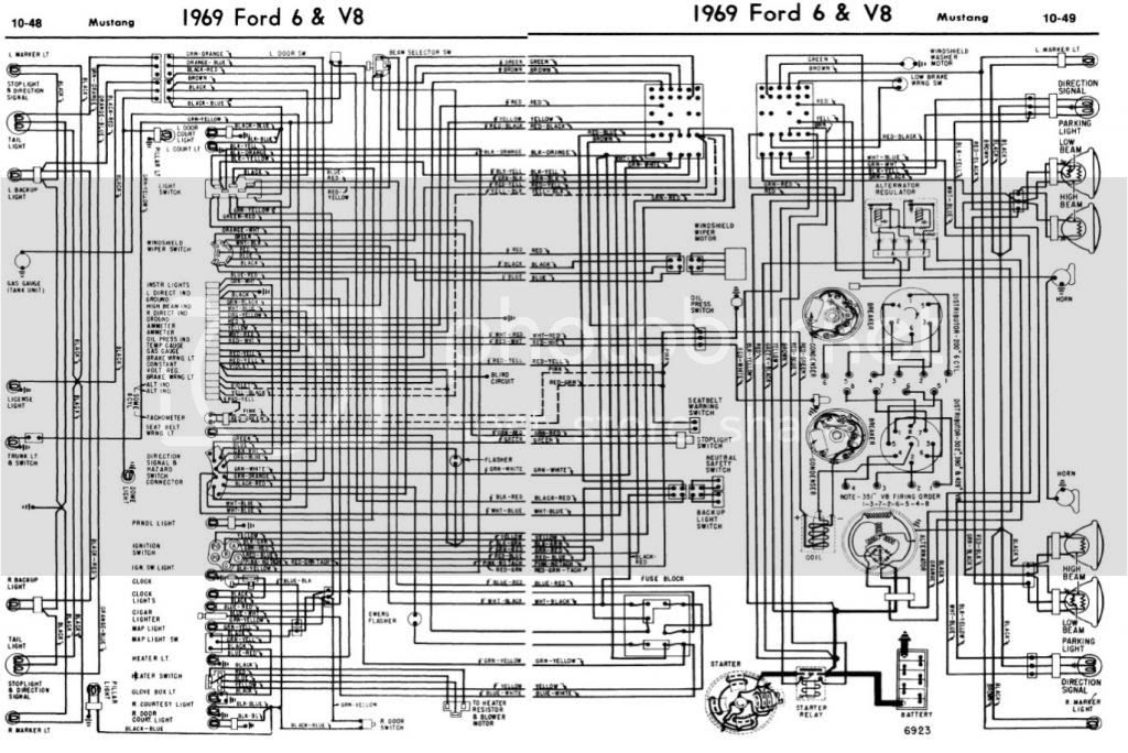 31 69 Mustang Wiring Diagram