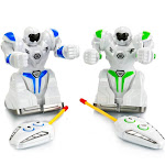 Vivitar VA90027 Robo Remote Controlled Interactive Combat Kids Robots - Set of 2