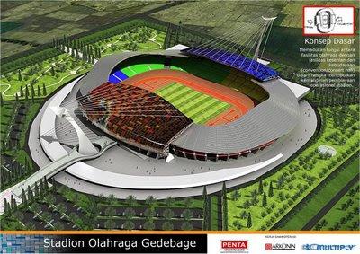 Stadion Utama Sepakbola (SUS) Gedebage