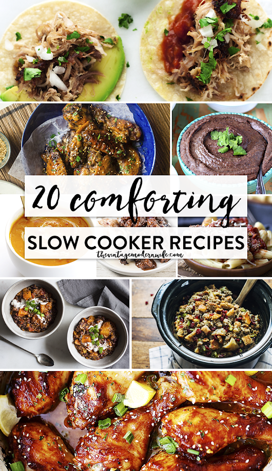 20 Comforting Slow Cooker Recipes